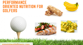 Performance oriented nutrition for golfers