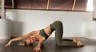 How To Do Thread The Needle Pose