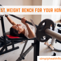 Weight bench for home gym